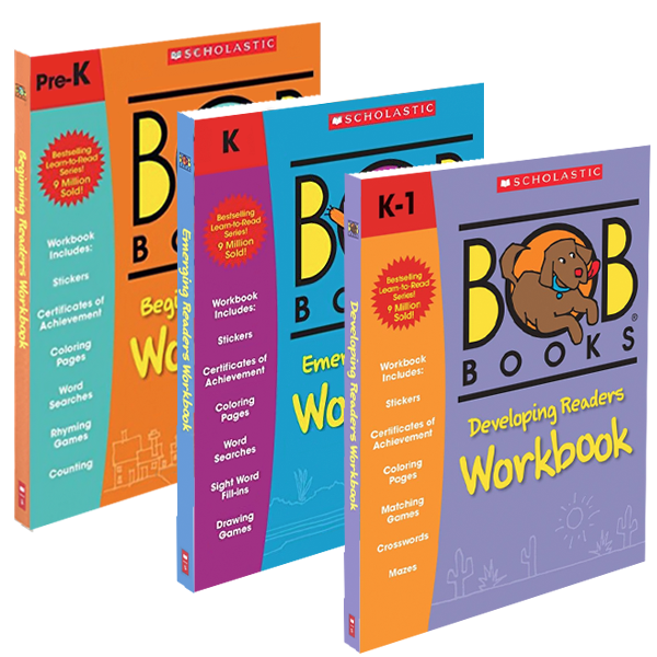Bob Books Workbook Bundle – Bob Books